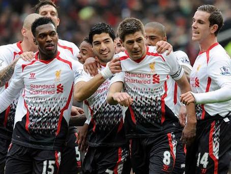 Cinco uniformes esquisitos do Liverpool