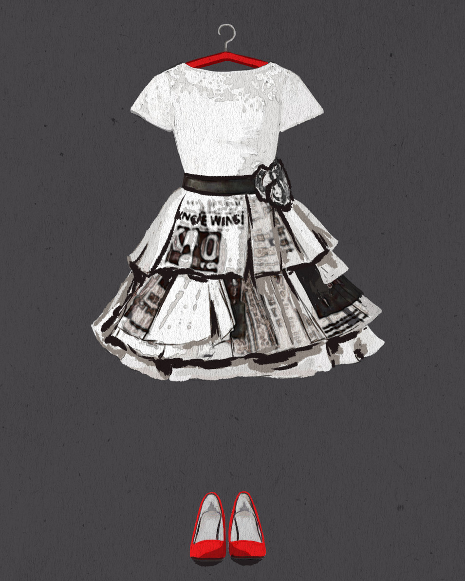 L.K. Wedding Dress