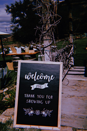 K+P Welcome Sign