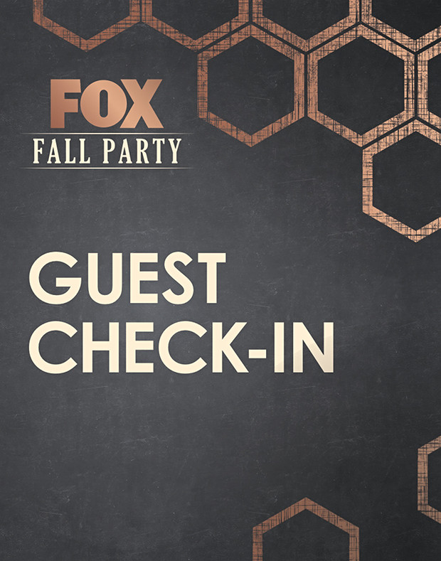 FOX FALL PARTY 2017 SIGNAGE