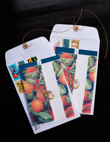 Invitation Wraps + Envelopes