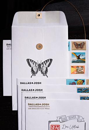 D+J Envelope Art
