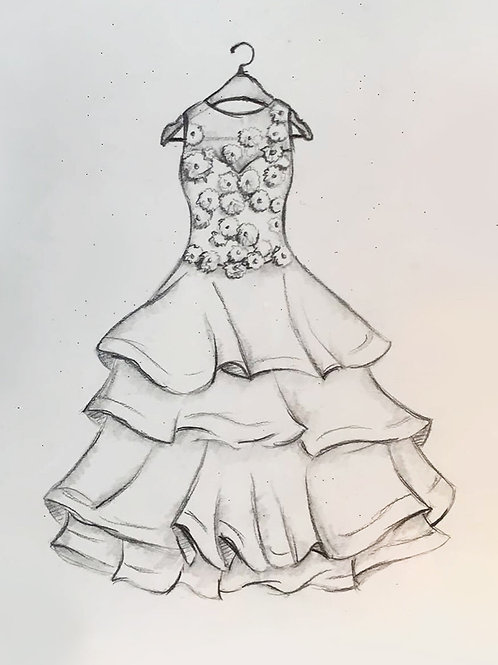"""Katherine"" Pencil Sketch (Original)"