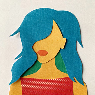 Paper Doll Portrait