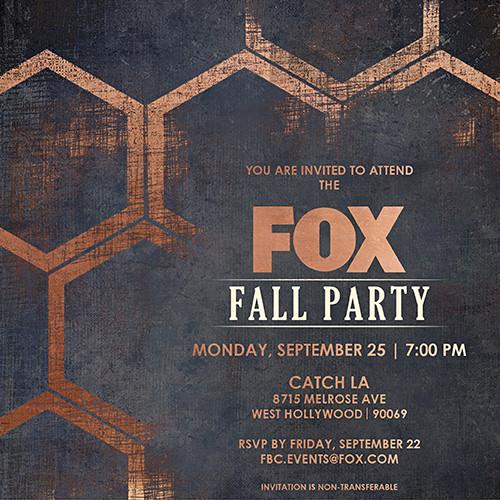 FOX FALL PARTY 2017 EVITE