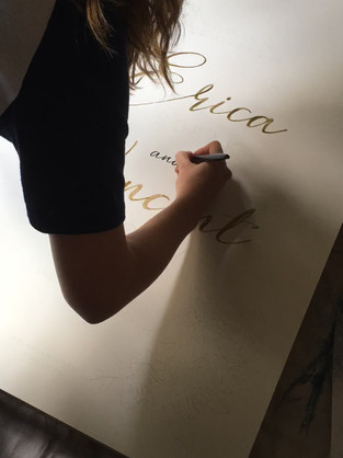Welcome Sign Creation