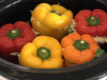 Crock Pot Stuffed Peppers