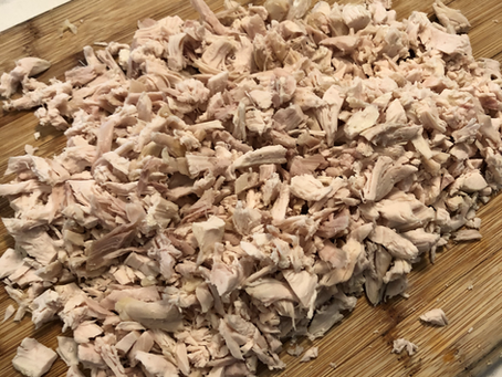 Easy Chicken Salad (high in protein and healthy fats)