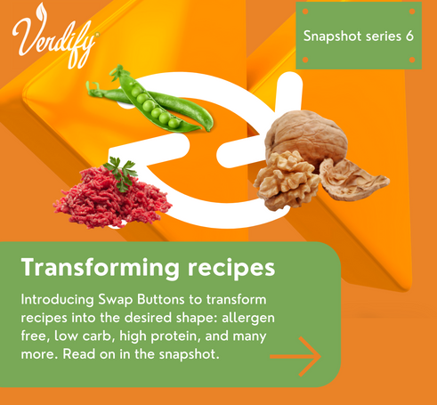 Transforming recipes into any shape