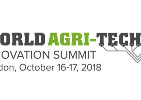 Jochem Bossenbroek invited to speak at the World Agri-Tech Innovation Summit
