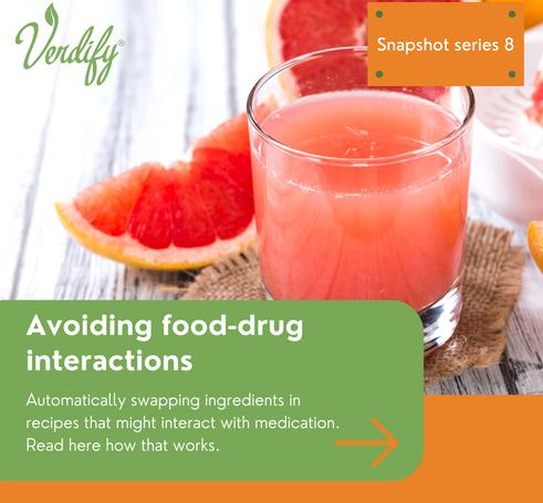Avoiding food drug interactions