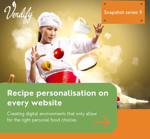 Recipe personalisation on every website