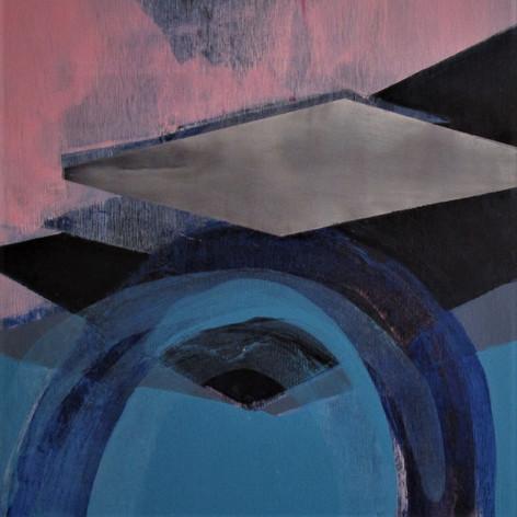 2019, Acrylic on Panel, 12 x 12