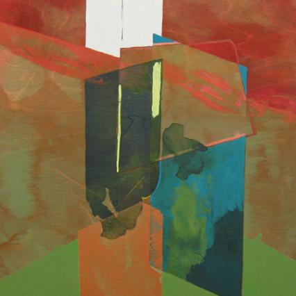 2018, Acrylic on Panel, 11 x 14