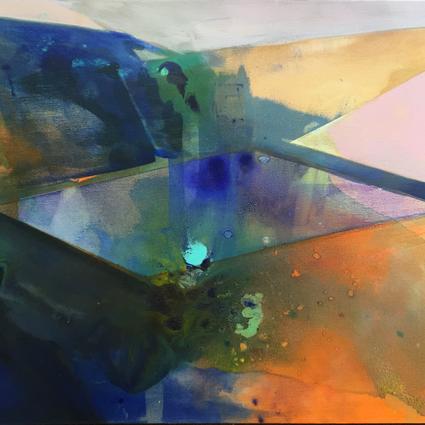2015, Acrylic on Canvas, 20 x 24