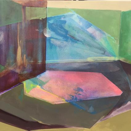 2015, Acrylic on Canvas, 18 x 24