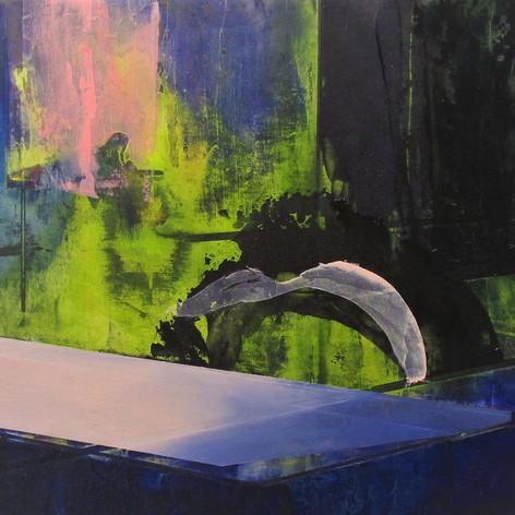2019, Acrylic on Panel, 15 x 18