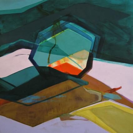 2020, Acrylic on Panel, 24 x 24