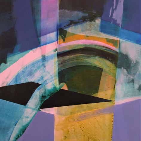 2020, Acrylic on Panel, 12 x 12