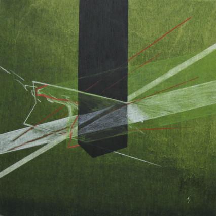 2018, Acrylic on Panel, 12 x 12