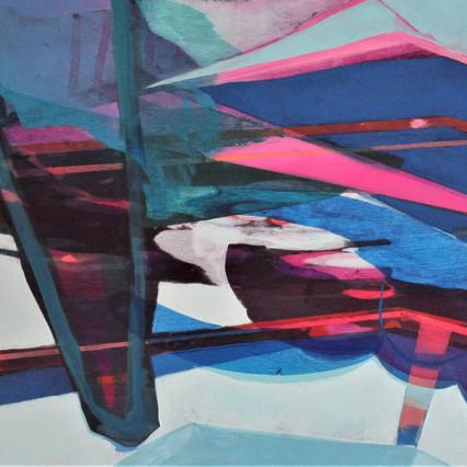 2020, Acrylic on Panel, 9 x 12