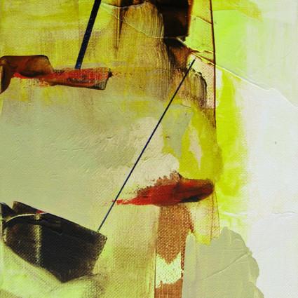 2015, Acrylic on Canvas, 12 x 9