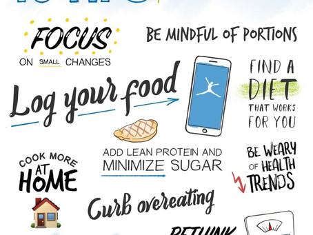 Creating Healthy Weight Loss Habits