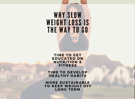 WHY SLOW WEIGHT LOSS IS THE WAY TO GO!