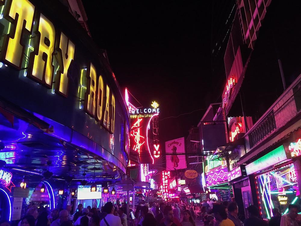 Soy Cowboy, Bangkok red light district