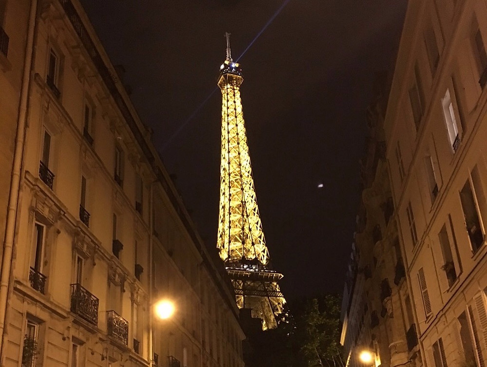 Paris ve Eyfel kulesi