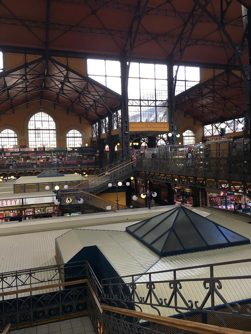 Central Market Budapeşte