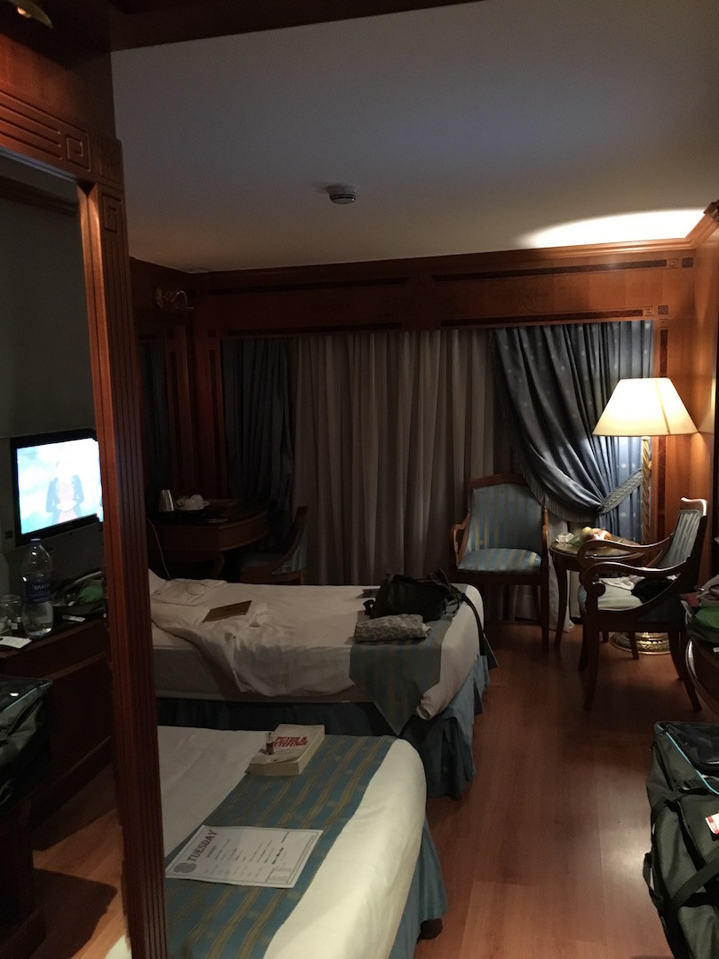 Gemideki odaların içerisinden bir görüntü