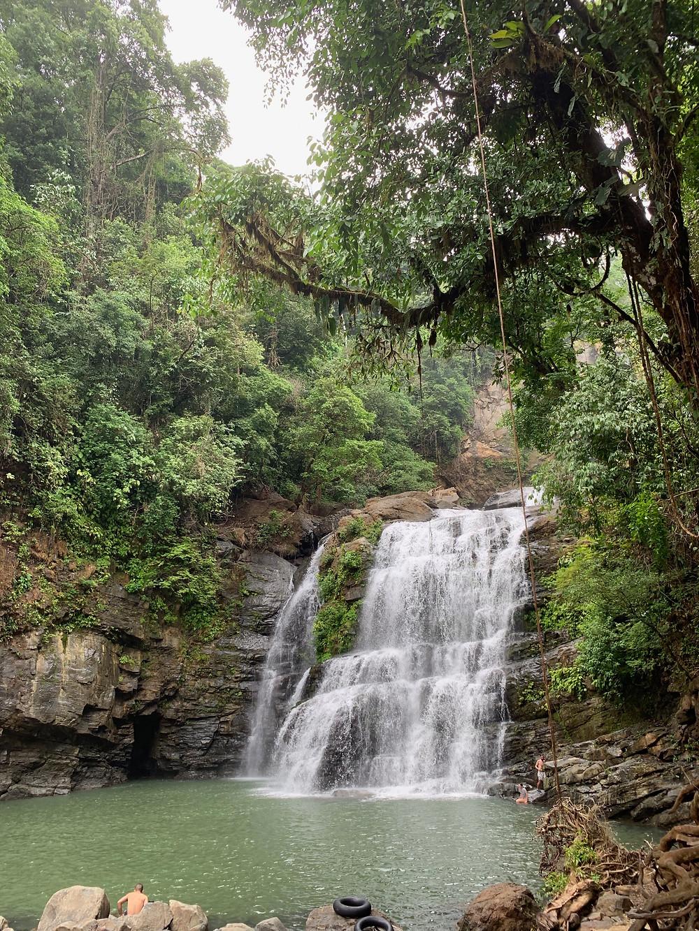 Nauyaca Şelaleleri, Uvita, Costa Rica