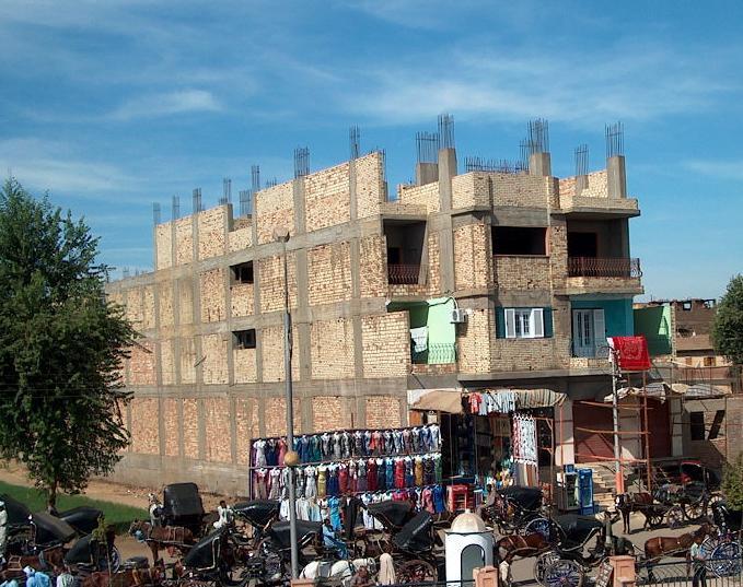 Mısır'daki tamamlanmamış binalar