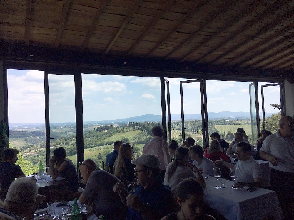San Gimignano'daki Ristorante Belsoggiorno