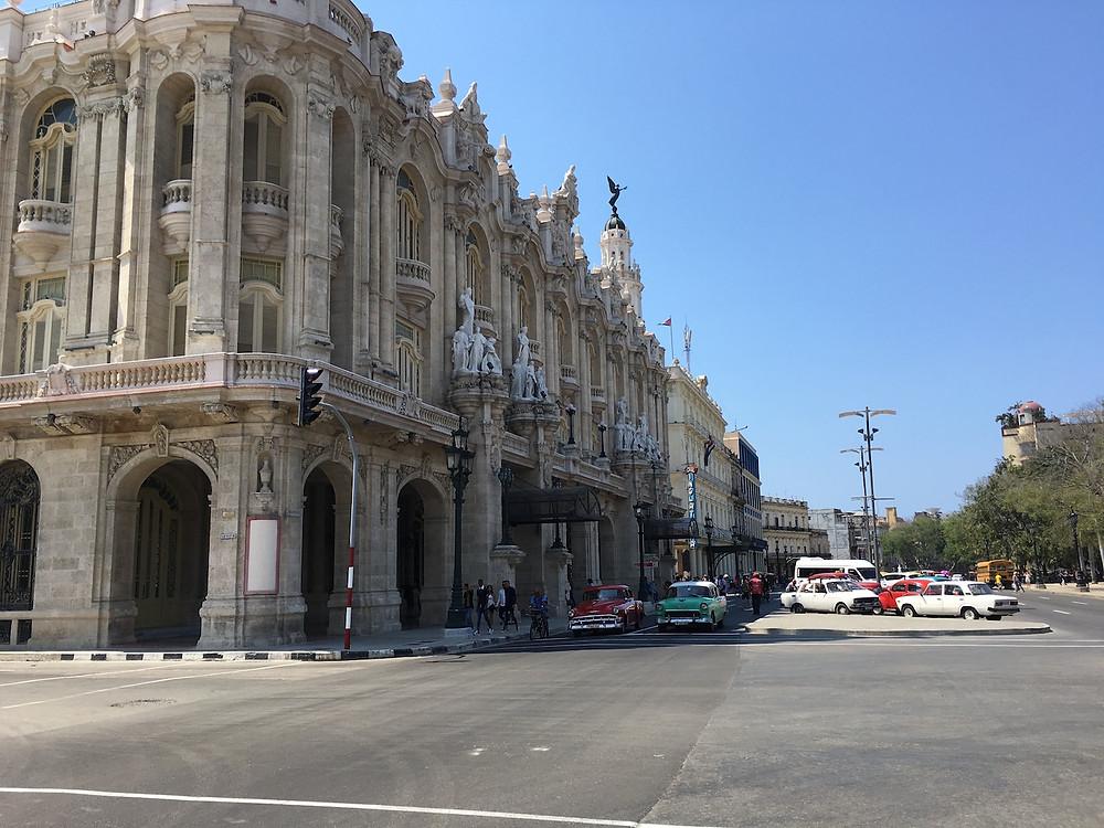 En turistik bölgelerden El Capitalio ve Parque Centrale çevresi