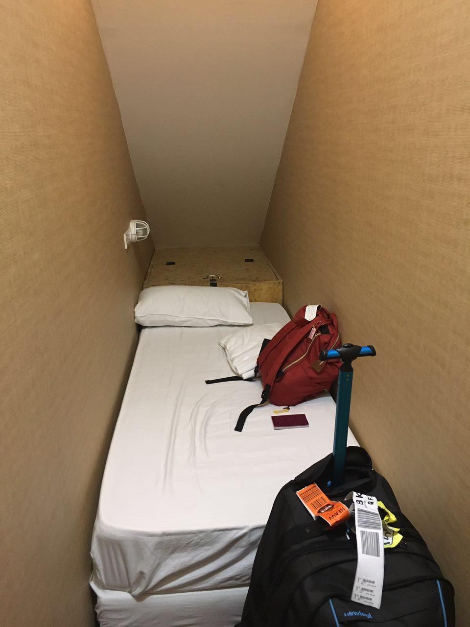 Yodsiam Hostel tek kişilik oda