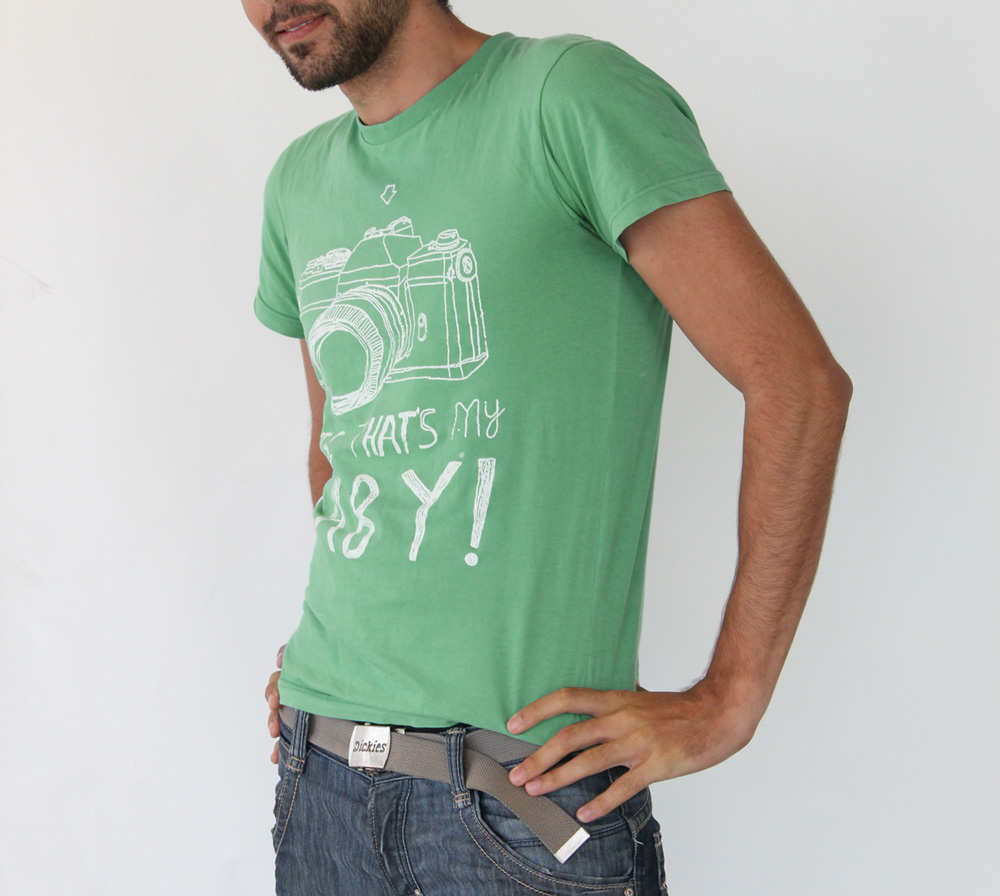 Green Personalized Printed T-shirt