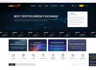 COEXSTAR.PH officially launches cryptocurrency exchange platform, now open for trading