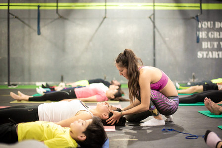 How do athletes benefit from yoga?
