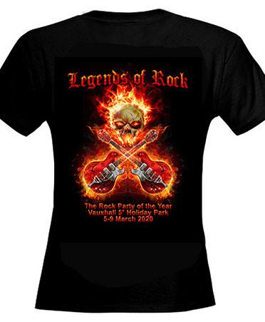 Ladies Skinny T Shirt Front