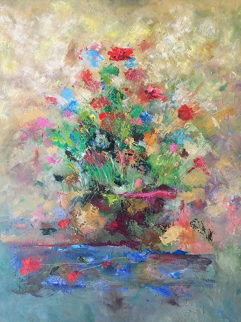 Antonio Sastre - Bodegon de flores