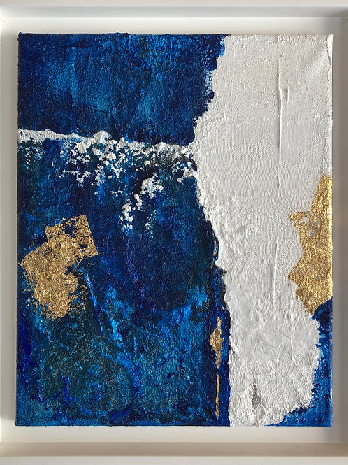 Emma Lapassouze - Espace bleu et blanc