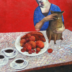 Noélie Raix-Fin de déjeuner