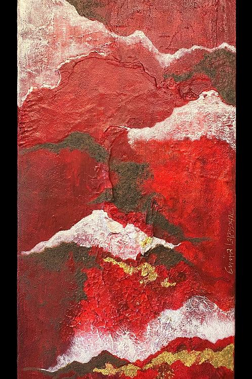 Emma Lapassouze - De rouge et d'or
