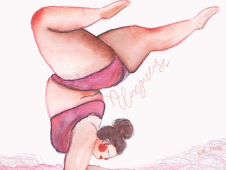 Jogando meu corpo no mundo! Por Karla Amaral