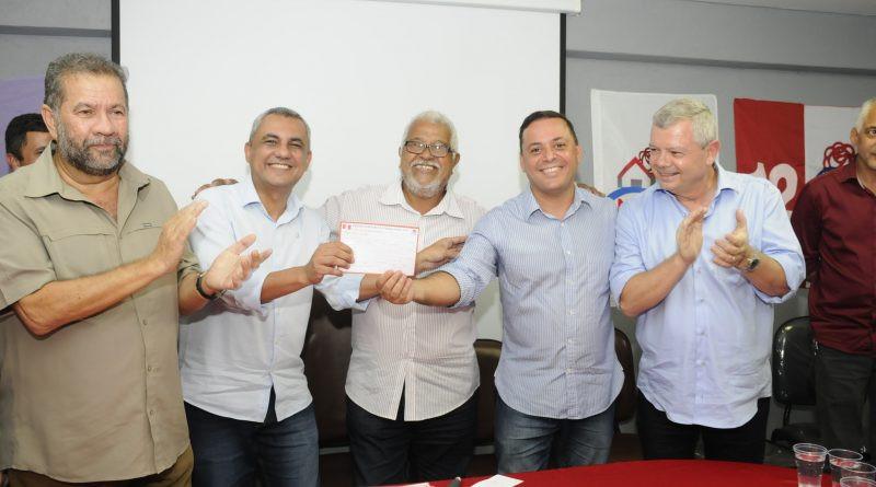 Principais lideranças do partido participaram do evento no Centro na última sexta, 14/Foto: Divulgação