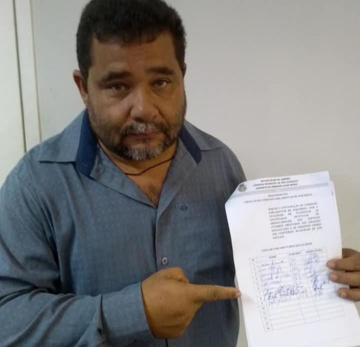 Gilson do Cefen é autor do PL/Foto: Divulgação