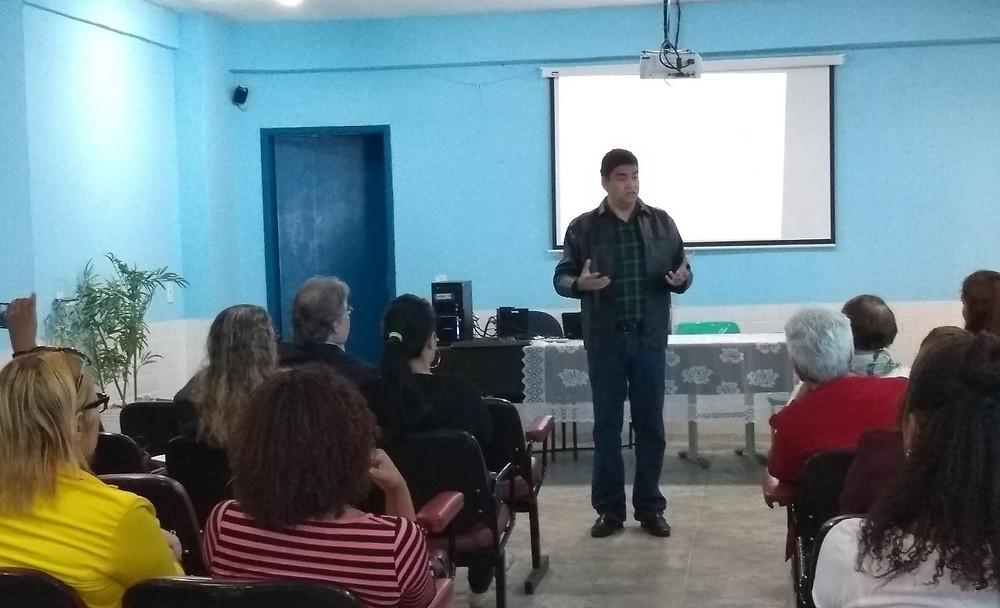 O secretário Marcelo Azeredo participou/Foto:Divulgação