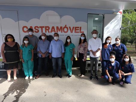 Castramóvel fará cirurgias gratuitas em cães e gatos de Niterói